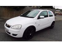 vauxhall corsa 1.3 diesel cdti, cheap Vauxhall corsa 3 door diesel white, Vauxhall corsa white 2004