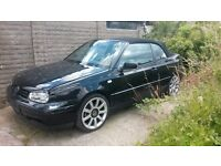 VW GOLF CABRIOLET 1.8 BREAKING FOR SPARES