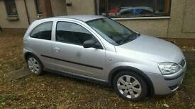 2004 1.3cdti vauxhall corsa for sale as spares or repairs