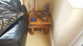 Real Wood Side Table Excellent Condition