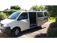 VW T5 newly converted camper **REDUCED IN PRICE**
