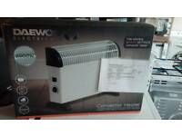 Convector heater new item boxed instructions and guarantee papers should be inside