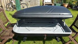 Roof box (suitable for any car) 400 Litre capacity (Large) from £6 per day