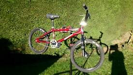 "Mongoose Expert 20"" BMX, snafu tyres, gyro brakes, sun rims"