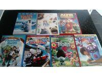 7 dvds for children