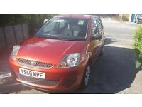Fiesta, morrocan red, clean and tidy. 5 seats, 5 doors, will put new MOT on. Good condition
