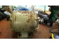 1/4 HP Electric Motors with Pulleys
