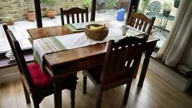India rose wood furniture