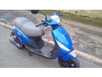 PIAGGIO ZIP 50cc 58 Reg Unmarked Blue