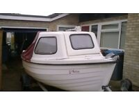 14' Orkney Coastliner fishing boat ready to go