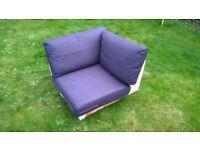 Corner section for ikea karlstad sofa