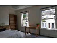 Big, light, warm room in an ideal location! Double bed, furnished & Bills included