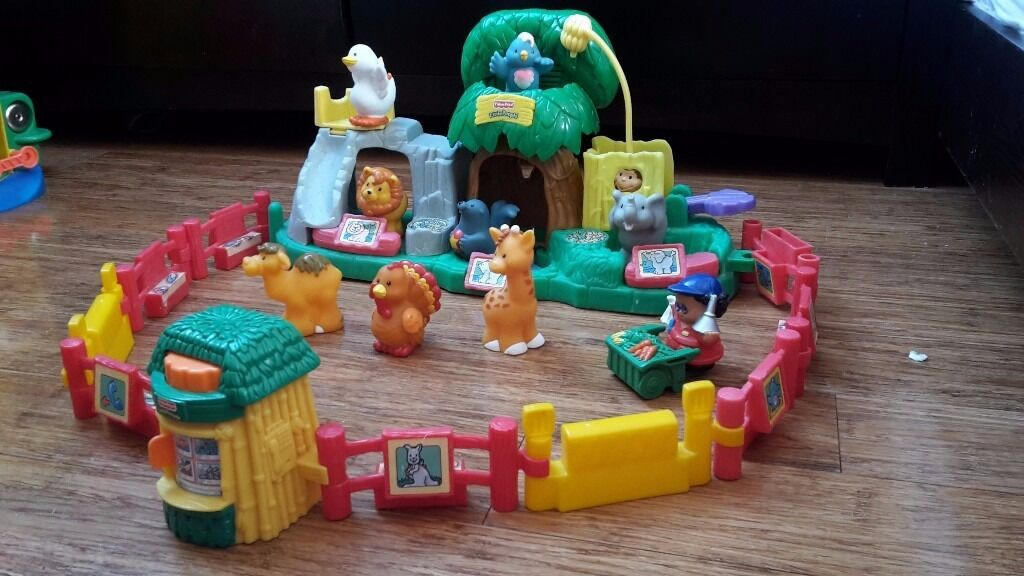 Fisher Price Little People Zoo With FiguresGreat Soundsin Rogerstone, NewportGumtree - ~ Fisher Price Little People Zoo Playset ~ Great Little People Playset that would keep little hand occupied for ages. Everything in the photos included in the sale Some marks and scratches but nothing that affects the operation of the toys, no cracks...