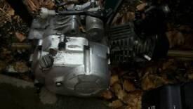 Honda wave 110cc semi auto fuel injection