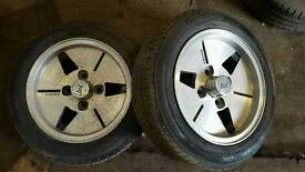 Advan YH Racing Dish alloys 4x114.3