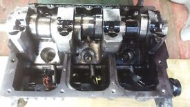 Skoda fabia engine diesel 1.4cc diesel bnv engine code 3 cylinder stripping for parts.