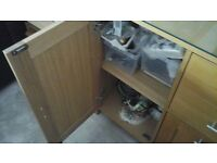 John Lewis Oak sideboard cost £699 when new very good condition