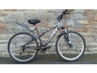 FULLY SERVICED JUMP X-RATED WITH FRONT DISC BRAKES(SMALL FRAME SIZE)BICYCLE