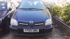 Nissan Almera Tino 1.8 (Automatic) 88075 miles with 6 months MOT in good condition ready to go.