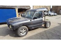 Land Rover Discovery 200tdi Tray back project not defender