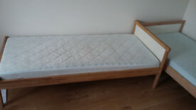 childrens beds with mattresses from IKEA