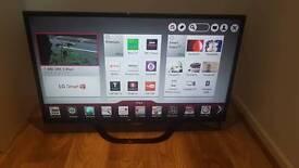 LG 42 inch LCD full HD Smart TV
