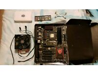 MSI Z97 Gaming 3, Intel I7 4770, 16gb ram, Evo 212