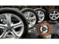 "##SALE## 17""Audi A4 Techniks Caddy Golf Leon Passat great cond excel tyres."