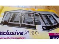 Dorema xl300 caravan awning
