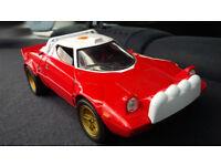 Lancia Stratos 1/18 diecast-metal by Solido. Collectors 1974 Street Version