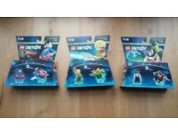 3 brand new unopened packs of Lego Dimensions
