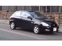2007 Hyundai Accent 1.4 Atlantic Automatic 3 Door Hatchback, Cheap to run, Full MOT!