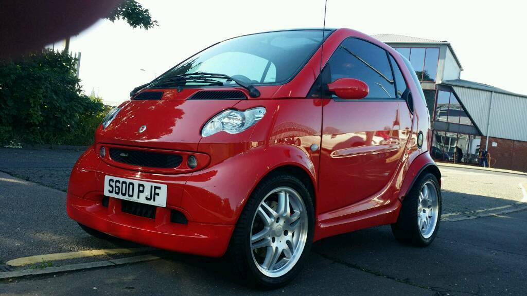 smart car fortwo 450 brabus red edition very rare and in. Black Bedroom Furniture Sets. Home Design Ideas