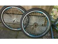 "26"" Bike wheels"