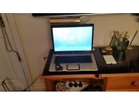 Hp pavilion laptop+printer in box cleaning kit+new cartridges.