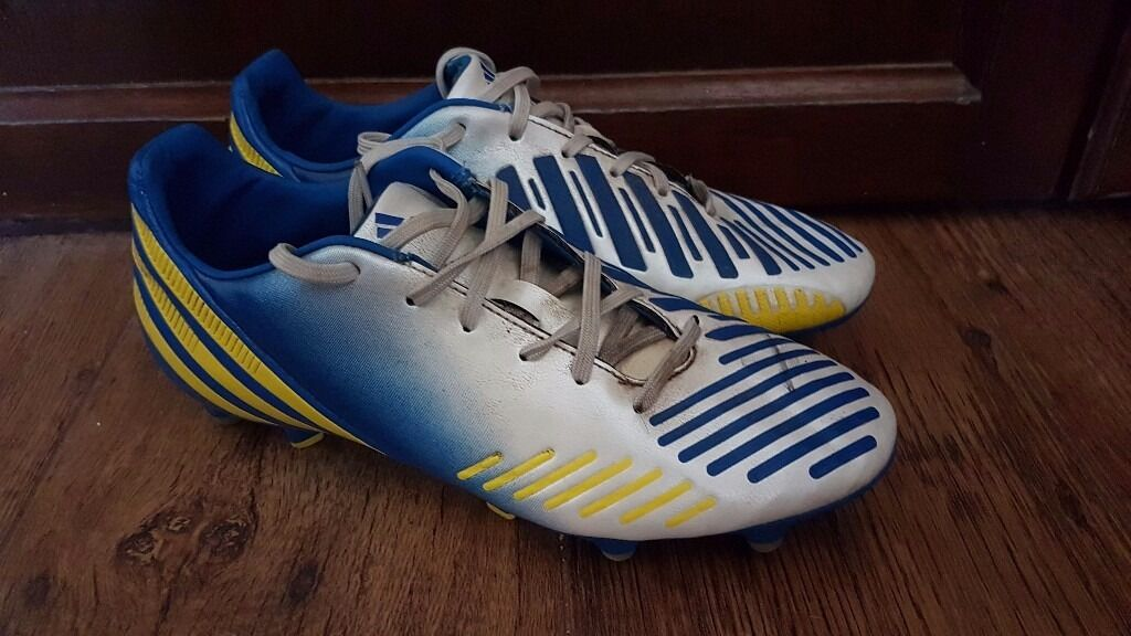 Adidas Football Boots UK Size 8in Beccles, SuffolkGumtree - Adidas UK size 8 Football Boots Small warn marks but general good condition. Can be used with Adidas MiCoach chip (not included) Any questions please ask!