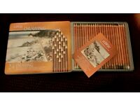 Derwent, 24 soft drawing pencils, sealed, shop price £40
