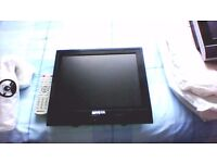 12 volt and Mains Miyota 15 inch Flat screen TV/DVD