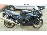 2010 kawasaki ZZR1400 ABS (one owner)