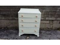 Vintage Painted Shabby Chic Chest of Drawers LEWES COLLECTION