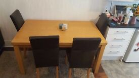 5 piece dining set in great condition (collect only)