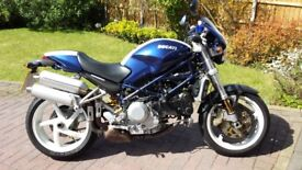 DUCATI MONSTER 996 S4R EXCELLENT CONDITION VERY ORIGINAL RECENT FULL SERVICE