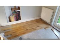 Oak flooring 20 mm tongue and groove 2 square metres