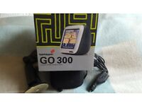 Tom Tom Go 300 with accessories & UK maps