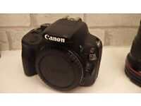 Canon 100D Touchscreen DSLR Camera (Body Only) - Immaculate Condition