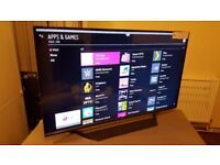 LG 49-inch 4K SUPER SMART HDR UHD LED TV-49UF770V,Freeview HD & FREESAT HD,GREAT Condition