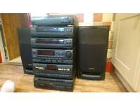 Aiwa full stereo stack system great condition!