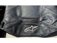 Alpinestars Stella Ladies 2 Piece Black Leathers Motorbike Suit