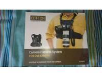 Cotton Camera Harness System