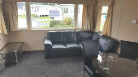 DOUBLE GLAZED/GAS CENTRAL HEATED STATIC CARAVAN FOR SALE WHITLEY BAY HOLIDAY PARK SITE FEES INCLUDED